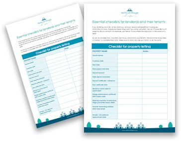 landlord-and-tenant-checklists